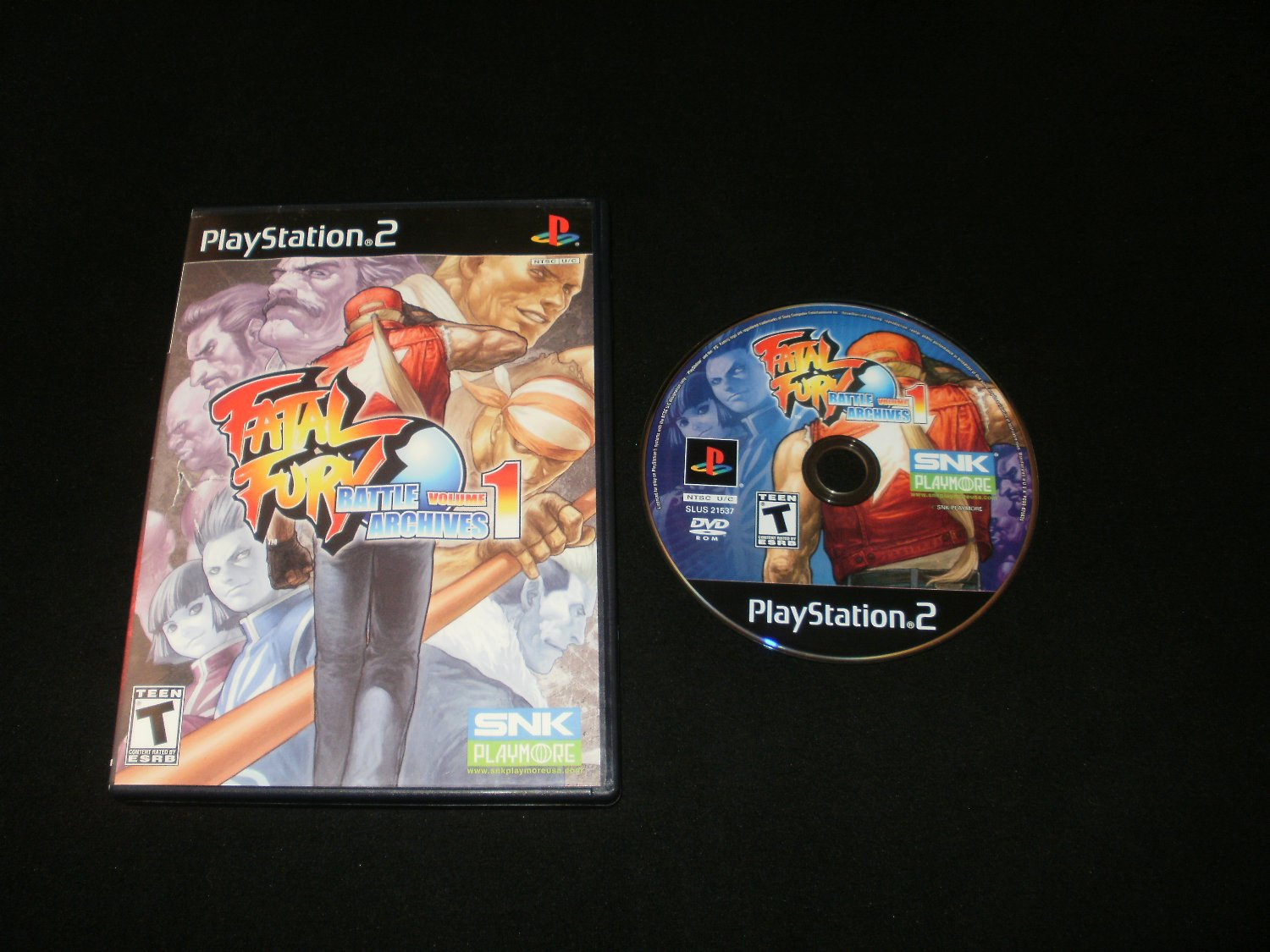 Fatal Fury Battle Archives Volume 1 - Sony PS2 - With Box