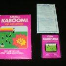 Kaboom - Atari 2600 - Complete CIB