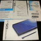 Nintendo DS Lite Original Box, Papers and Manual - 2008 Cobalt Black - System Not Included