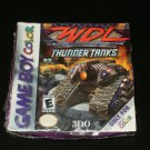 World Destruction League Thunder Tanks - Nintendo Gameboy Color - Brand New Factory Sealed