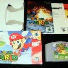 Super Mario 64 - N64 Nintendo - Complete CIB