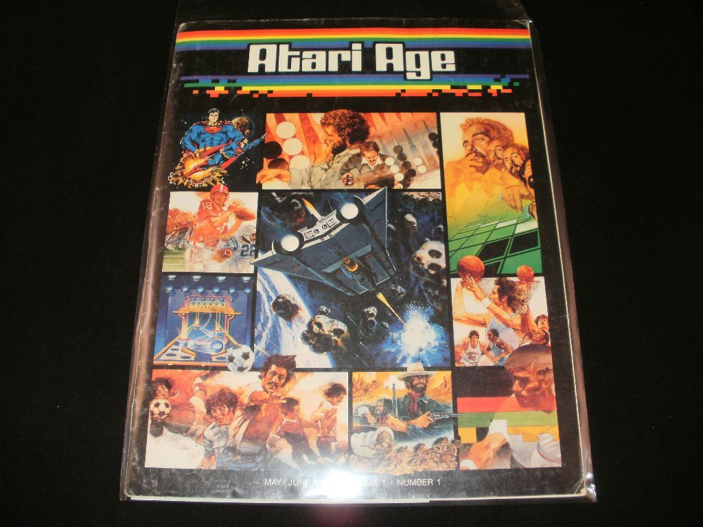 Atari Age Magazine - Volume 1, Number 1 - May-June, 1982 - Rare First Issue
