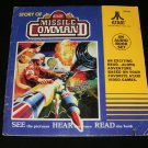 Story of Atari Missile Command - 33 1/3 RPM Record - Kid Stuff Records 1982 - Rare Yellow Label