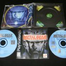 Metal Gear Solid - Sony PS1 - Complete CIB - Black Label 1998 Release