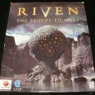 Riven - 1997 Red Orb Entertainment - Windows PC - Complete CIB