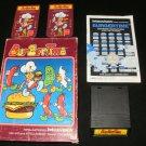 Burgertime - Mattel Intellivision - Complete CIB
