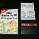Wonder Boy III The Dragon's Trap - Sega Master System - Complete CIB - Rare