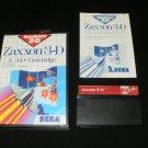 Zaxxon 3-D - Sega Master System - Complete CIB