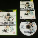 Metal Gear Solid 2 Substance - Xbox - Complete CIB
