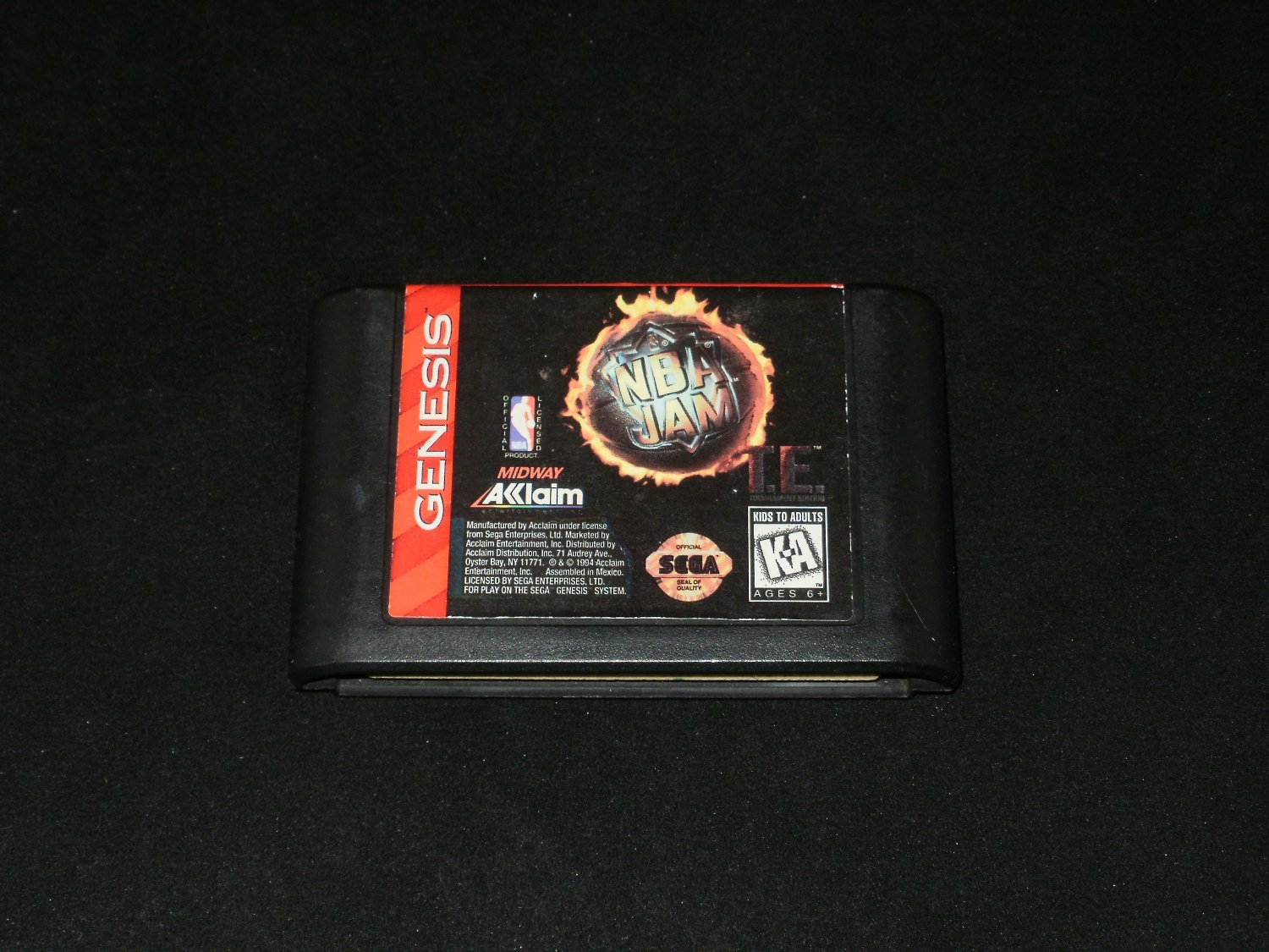 Nba Jam Tournament Edition Sega Genesis