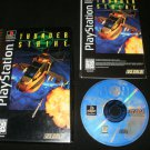 Thunder Strike 2 - Sony PS1 - Complete CIB - 1996 Long Box Version