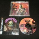 Oddworld Abe's Oddysee - Sony PS1 - Complete CIB - Original 1997 Black Label Release