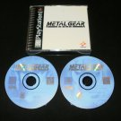 Metal Gear Solid - Sony PS1 - With Original Case - Black Label 1998 Release