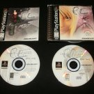 Parasite Eve - Sony PS1 - Complete CIB (Missing Demo Disc) - Original 1998 Black Label Release