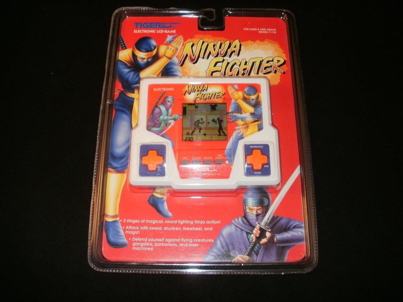 Ninja Fighter - Vintage Handheld - Tiger Electronics 1994 - Brand New Factory Sealed