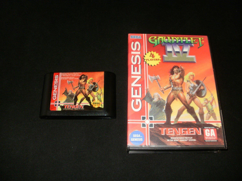 Gauntlet IV - Sega Genesis - With Box