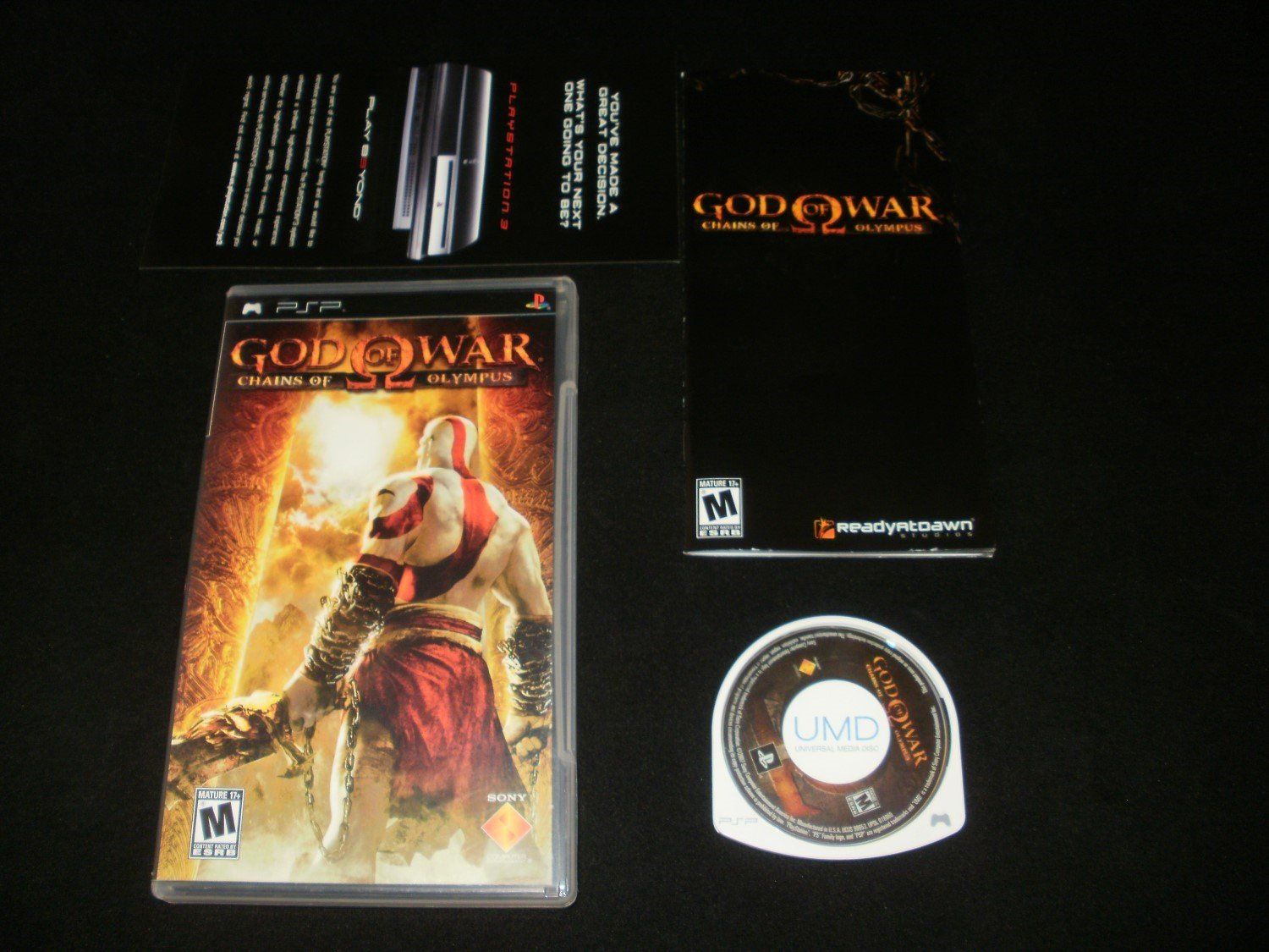 God of War Chains of Olympus - Sony PSP - Complete CIB