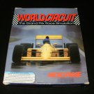 World Circuit - 1992 MicroProse - IBM PC - Complete CIB - Rare