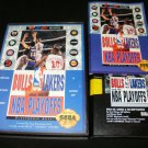 Bulls vs Lakers and the NBA Playoffs - Sega Genesis - Complete CIB