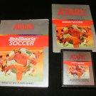 RealSports Soccer - Atari 2600 - Complete CIB