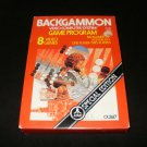 Backgammon - Atari 2600 - Brand New Factory Sealed - 1986 Rerelease Version