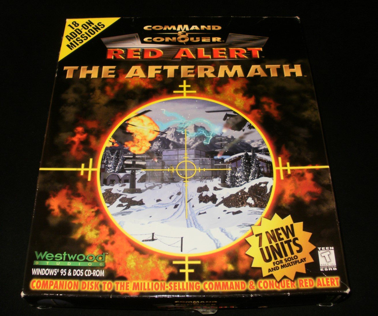 Command & Conquer Red Alert The Aftermath Expansion - 2000 Westwood Studios - IBM PC - Complete CIB