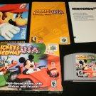 Mickey's Speedway USA - N64 Nintendo - Complete CIB