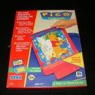 Year at Pooh Corner - Sega Pico - Box Only