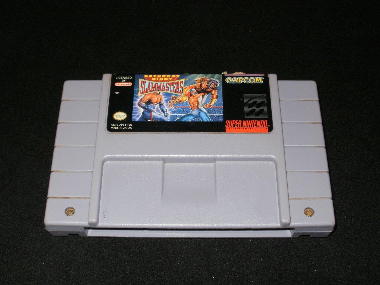 Saturday Night Slam Masters - SNES Super Nintendo