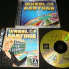 Wheel of Fortune - Sony PS1 - Complete CIB
