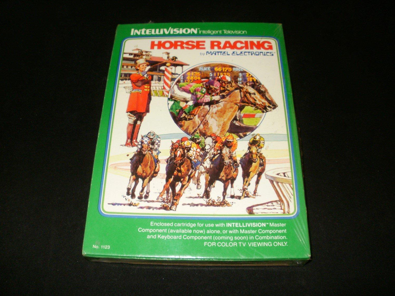Horse Racing - Mattel Intellivision - New Factory Sealed
