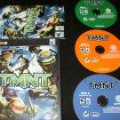 TMNT - 2007 Ubisoft - Windows PC - Complete