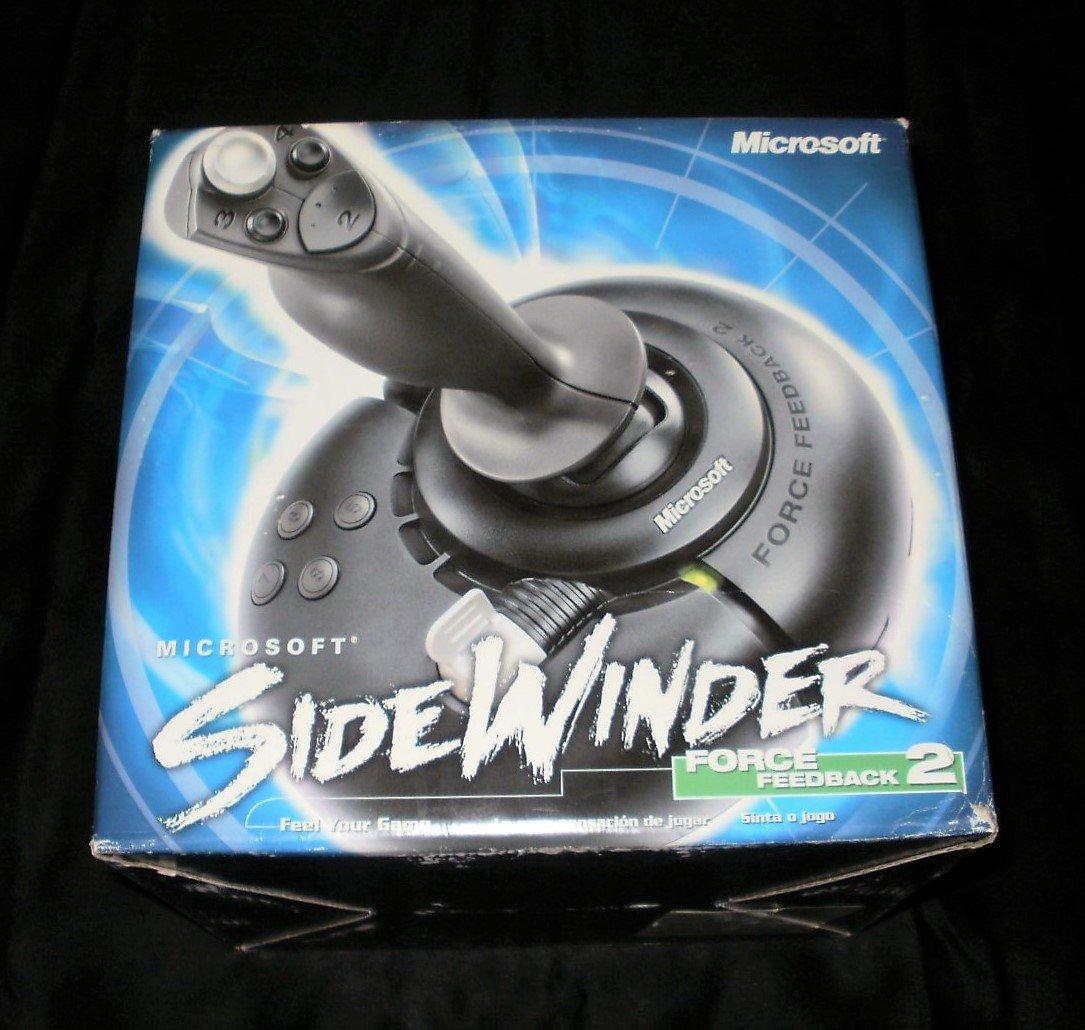 microsoft sidewinder force feedback 2 joystick manual