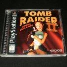 Tomb Raider II Starring Lara Croft - Sony PS1 - Complete CIB - Black Label 1997 Release