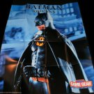 Batman Returns Poster - Sega Game Gear 1992 - Never Used