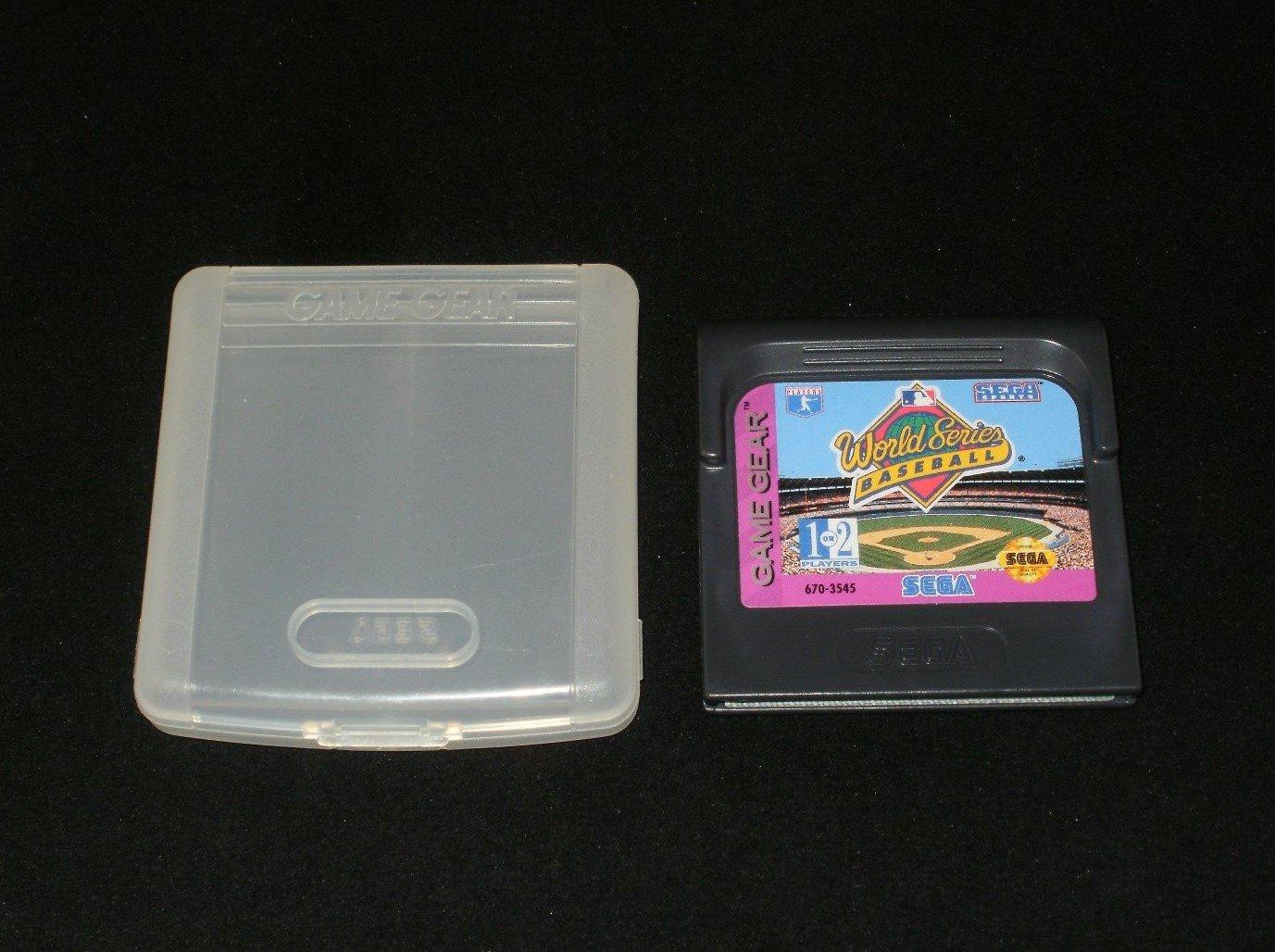 World Series Baseball - Sega Game Gear - With Case