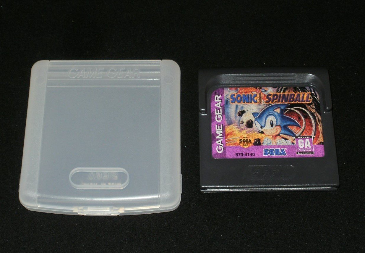 Sonic Spinball - Sega Game Gear - With Case