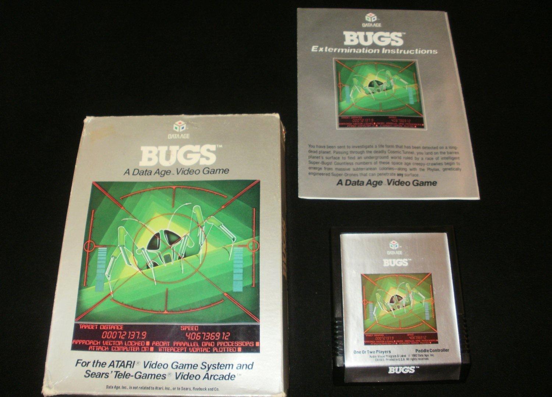 Bugs - Atari 2600 - Complete CIB