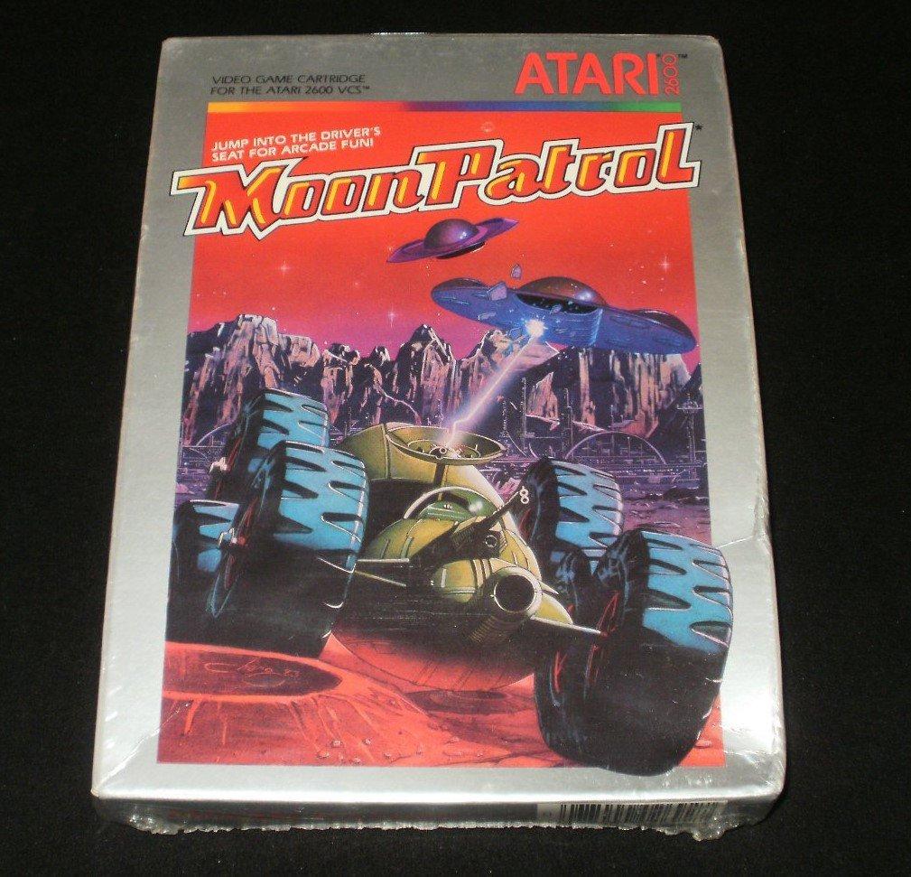 Moon Patrol - Atari 2600 - New Factory Sealed