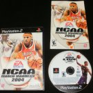 NCAA March Madness 2004 - Sony PS2 - Complete CIB