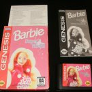 Barbie Super Model - Sega Genesis - Complete CIB - 1997 Majesco Version