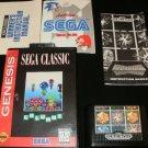 Columns - Sega Genesis - Complete CIB - 1994 Sega Classic Version