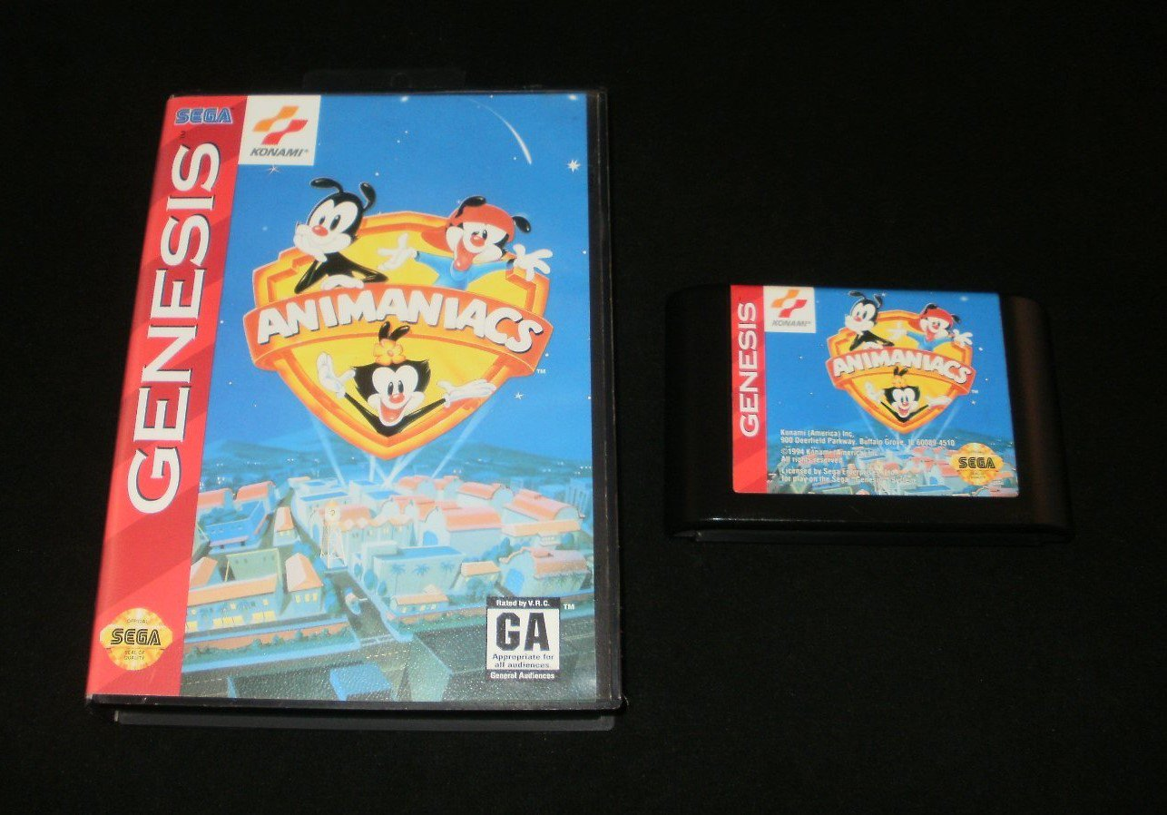 Animaniacs - Sega Genesis - With Box
