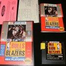 Bulls versus Blazers and the NBA Playoffs - Sega Genesis - Complete CIB