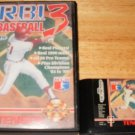 RBI Baseball 3 - Sega Genesis - With Box