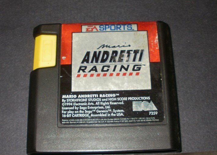 Mario Andretti Racing - Sega Genesis