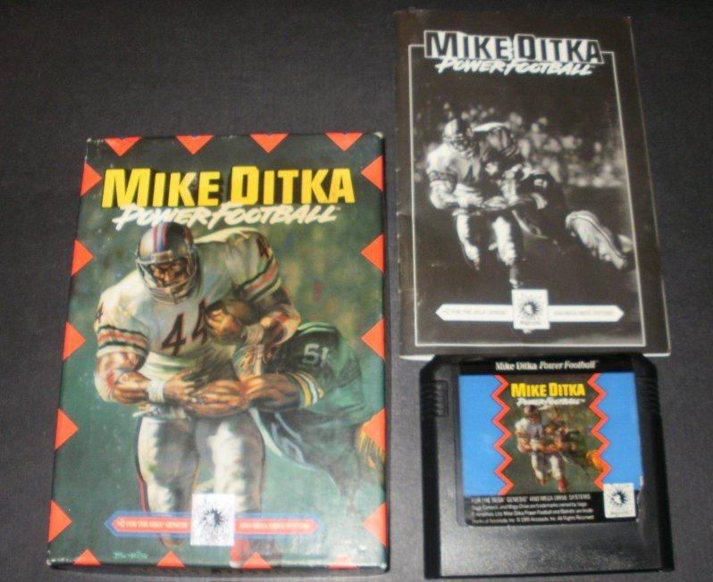 Mike Ditka Power Football - Sega Genesis - Complete CIB