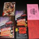Lotus Turbo Challenge - Sega Genesis - Complete CIB