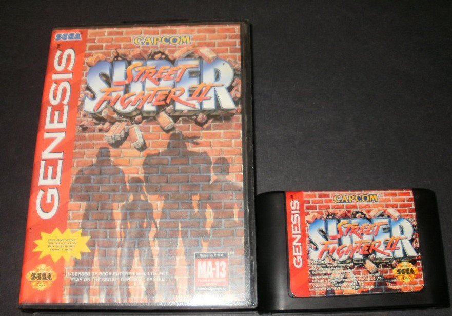Super Street Fighter II - Sega Genesis - With Box