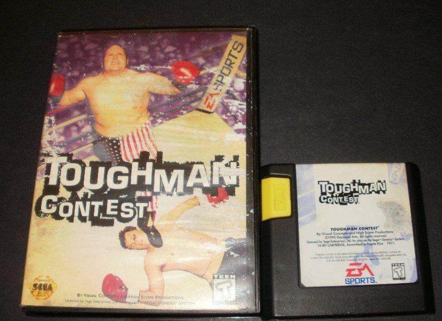 Toughman Contest - Sega Genesis - With Box